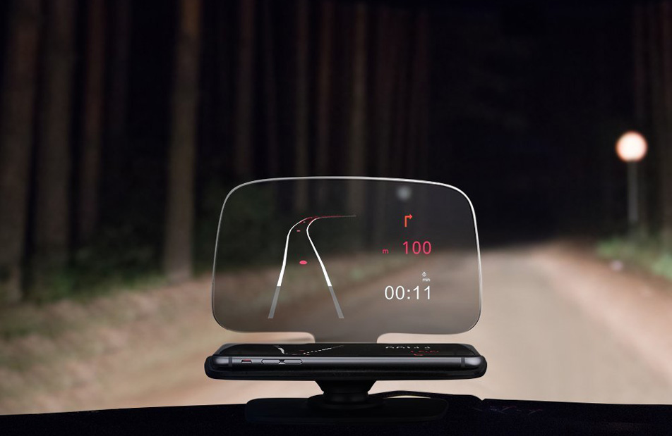 Awesome gadget transforms your smartphone into a head-up display for your car