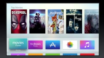 WWDC 2016: Apple tvOS Updates