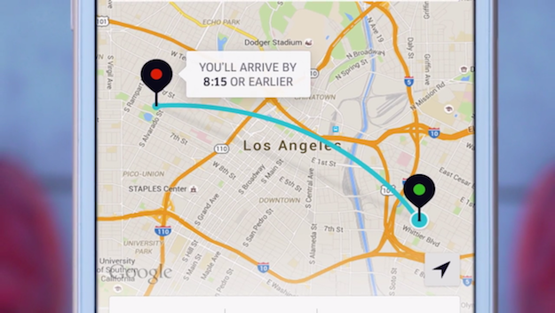 Uber Arrive By Guarantee