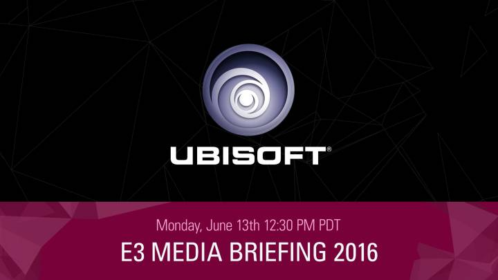Ubisoft E3 2016 Press Conference Live Stream