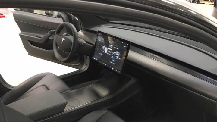 Tesla Model 3 Interior Images Leaked