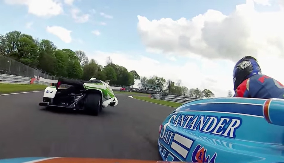 F1 Sidecar Racing Video