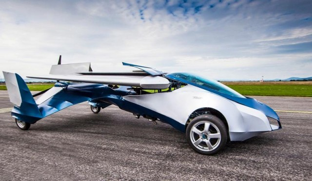 Larry Page Flying Cars