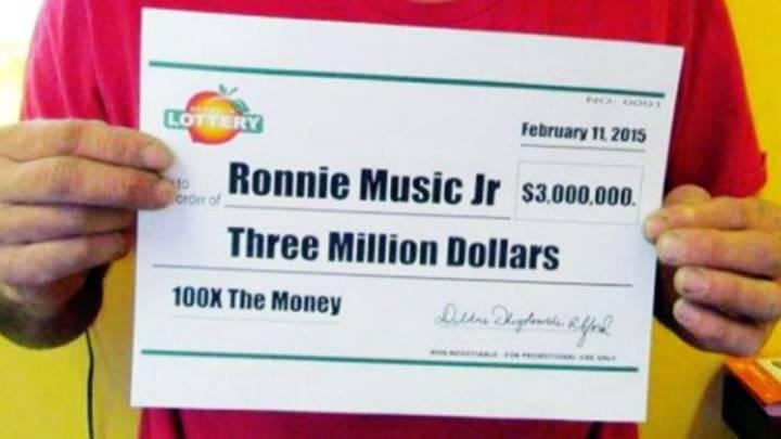 $3 Million Lottery Winner Drug