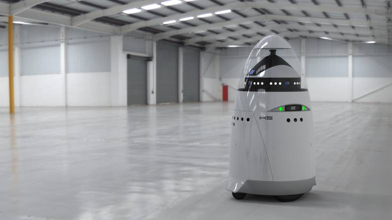 Robot Security Guard Attack