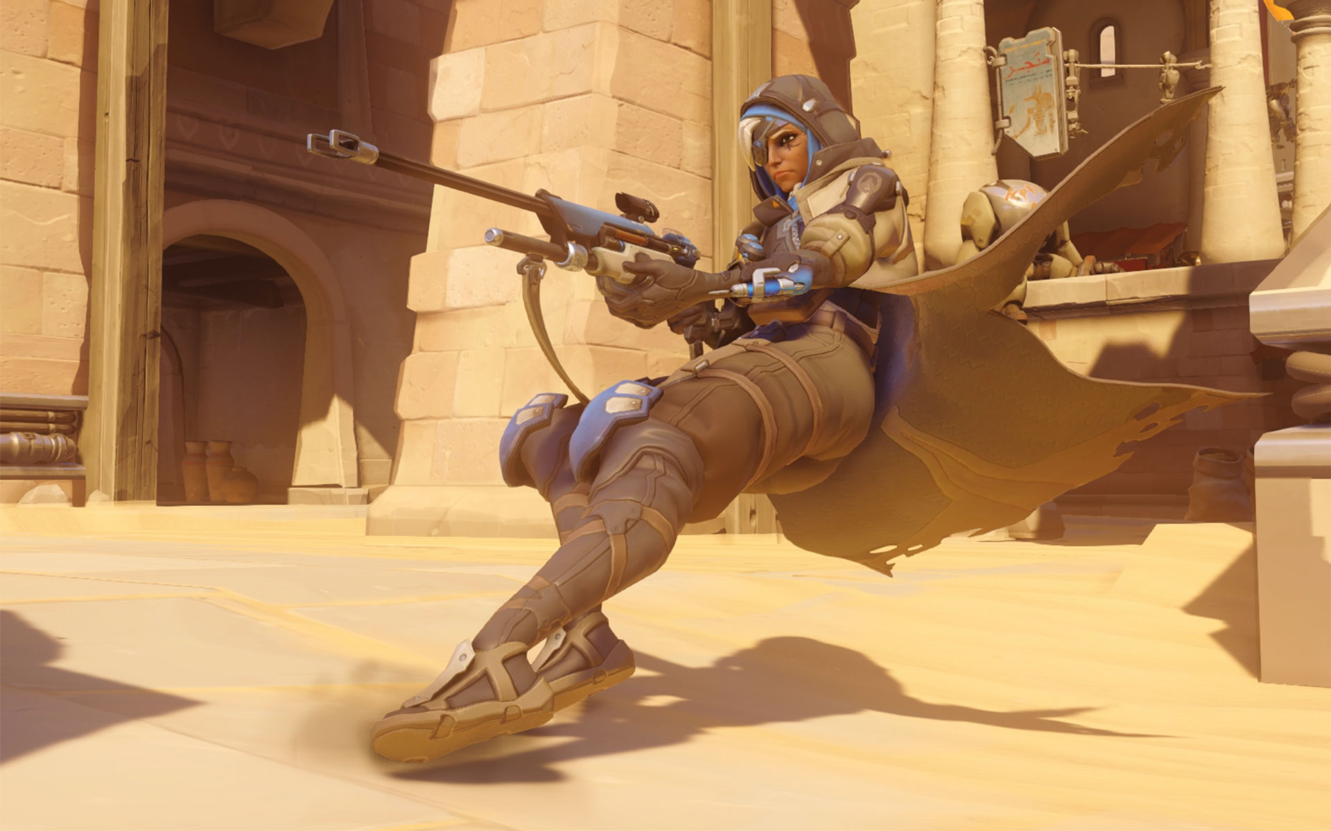 Overwatch New Hero Ana
