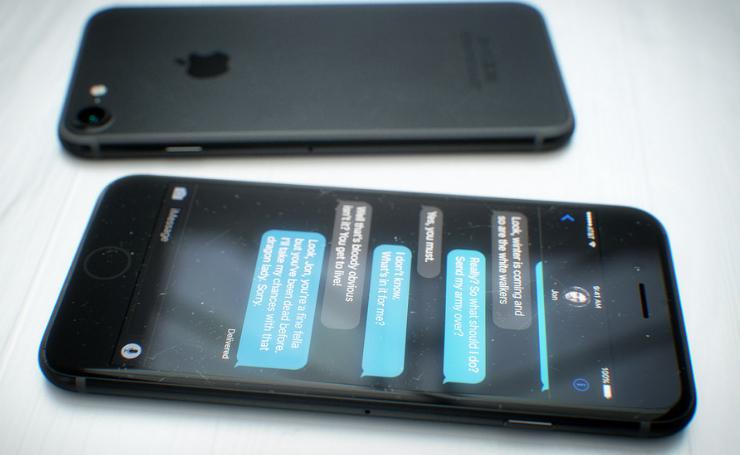 Black iPhone 7 Photos