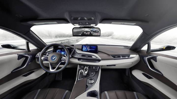 Mirrorless Cars BMW i8