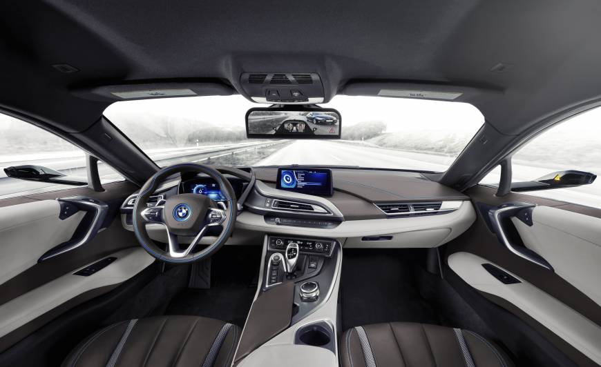 Mirrorless Cars BMW i8