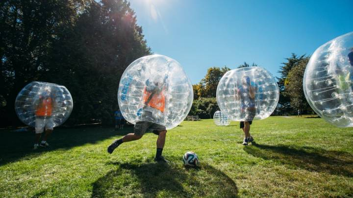 Extreme Bubble Soccer