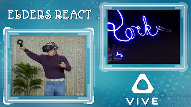 HTC Vive Reaction Video