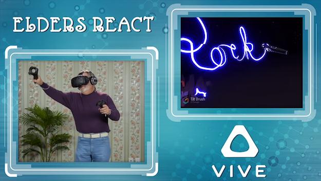 HTC Vive Reaction Video