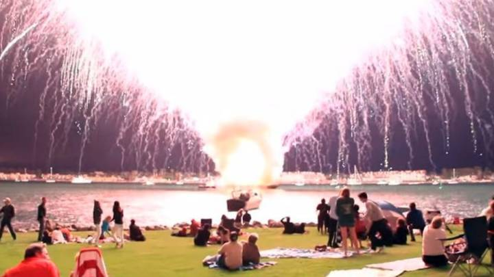 July 4th Fireworks 2016