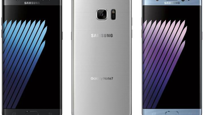 Galaxy Note 7 iPhone 7 Plus Pricing
