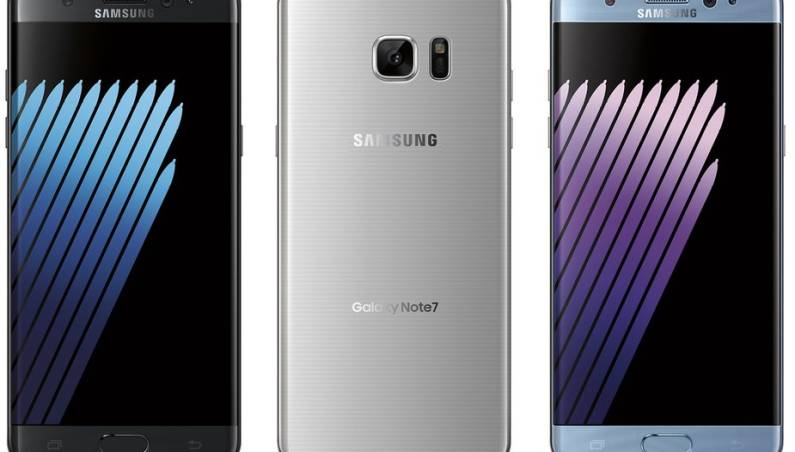 Galaxy Note 7 Google Nexus 2016