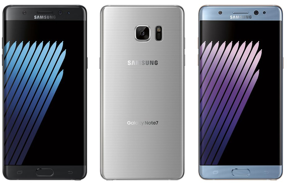 Galaxy Note 7 Google Nexus 2016