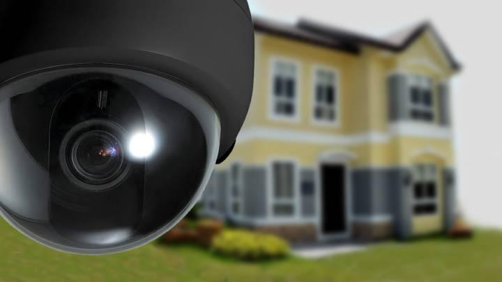 Home Security Camera Pan Tilt