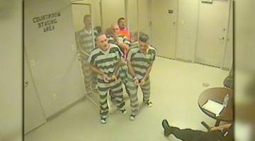 Inmates Escape Cell Save Guard