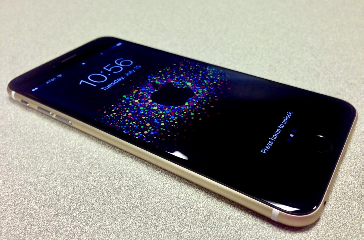 Gold Black iPhone Mod