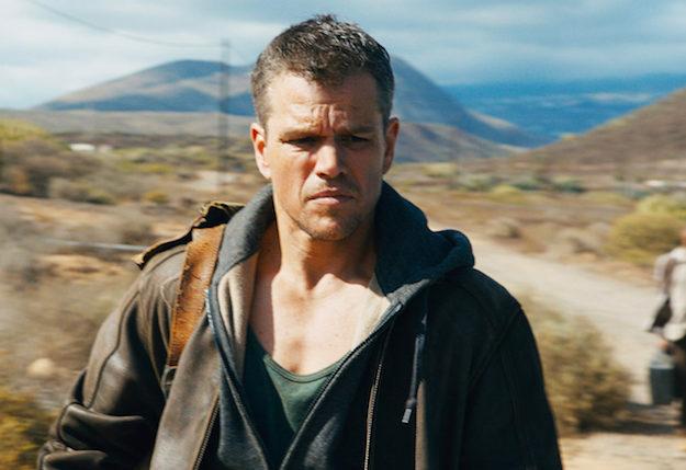 Jason Bourne - Magazine cover