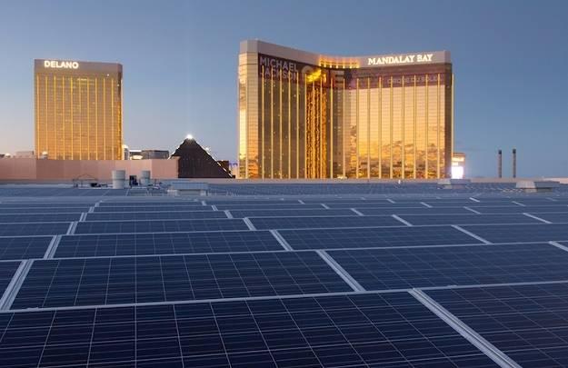 World's Largest Solar Roof
