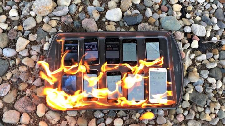 iPhone Fireproof Test
