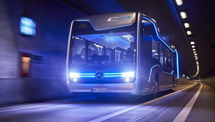 Mercedes-Benz Future Bus Video