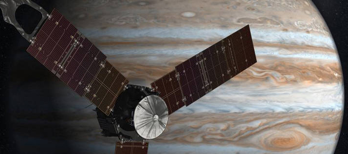 NASA Juno Jupiter Orbit