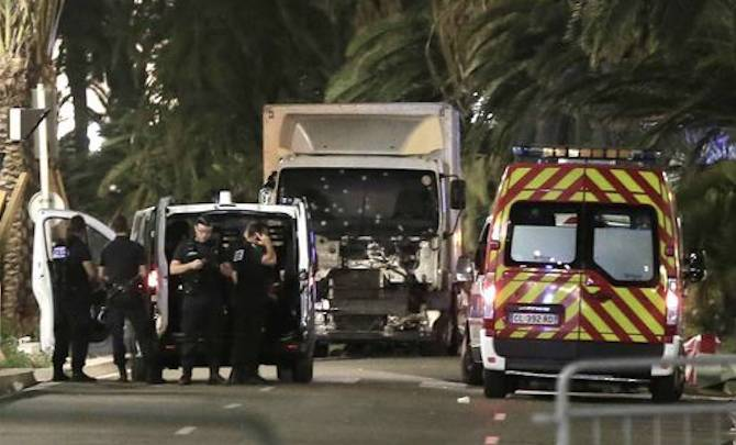 Truck Drives Into Crowd France