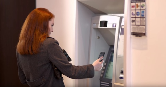TouchID ATM Cash Withdrawal