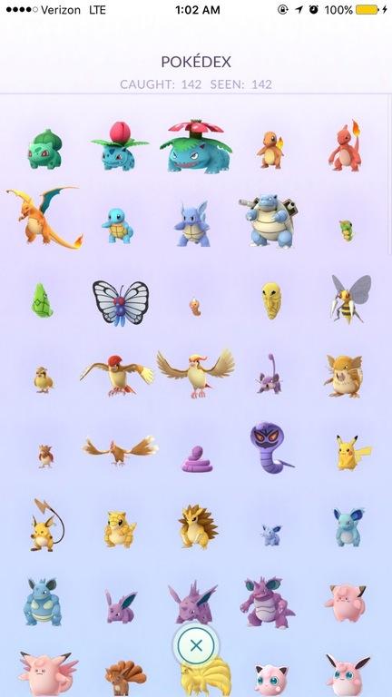Pokemon Go All In Us