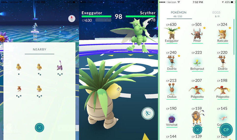 Pokémon Go Most Wanted Features