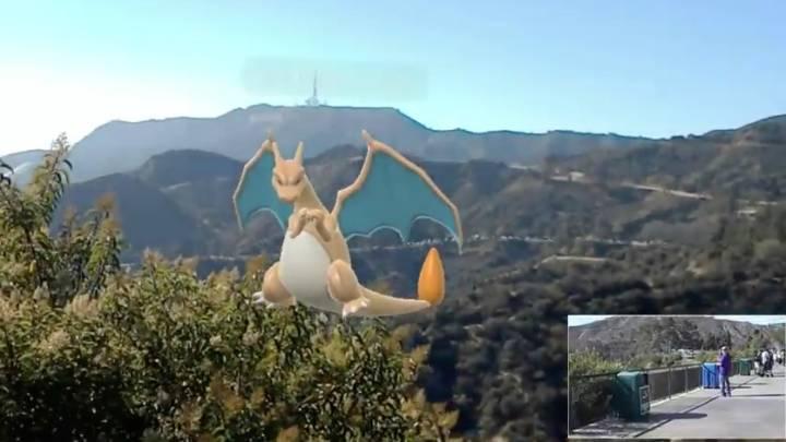 Pokemon Go HoloLens Video
