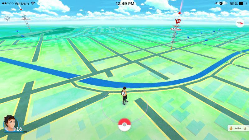 Pokemon Go spoofing