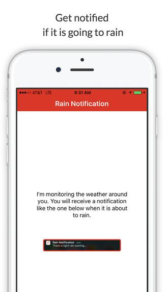 Rain Notification