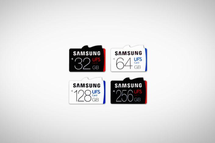 Fastest 256GB MicroSD Card: Samsung UFS