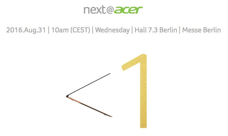 Acer IFA 2016 Live Stream