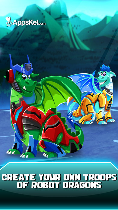 Angry Dragon Bot Dress Up