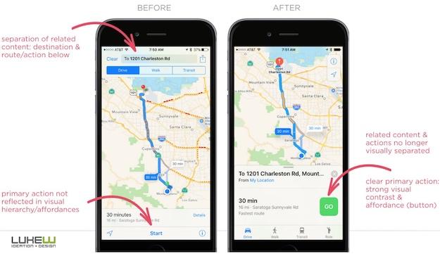 apple maps ios 10 navigation