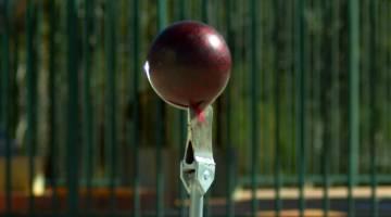 Axe Splitting Bowling Balls