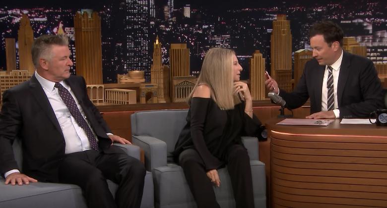 Barbra Streisand Siri Jimmy Fallon