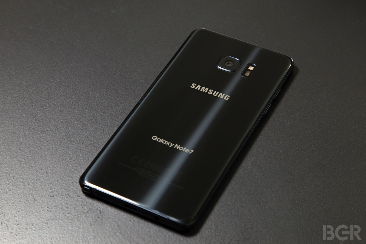 Samsung's hot new Galaxy Note 7 still isn't as fast as last year's iPhone 6s