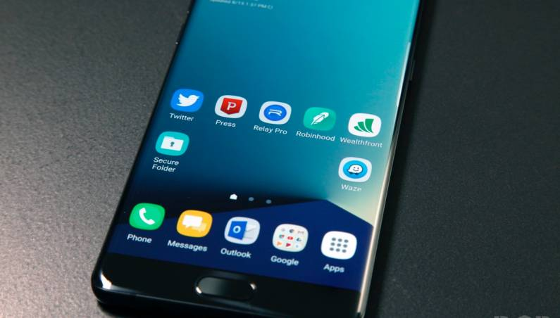 Galaxy Note 7 Battery Maker