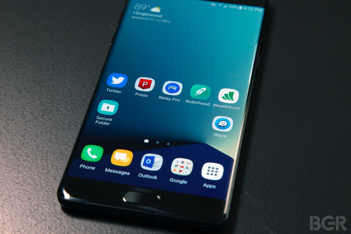 Note 7 Discontinued