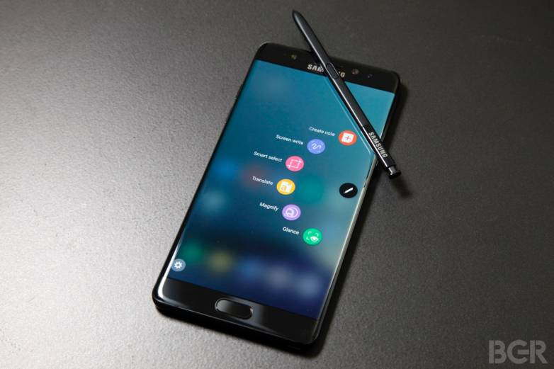 Galaxy Note 9 Infographic