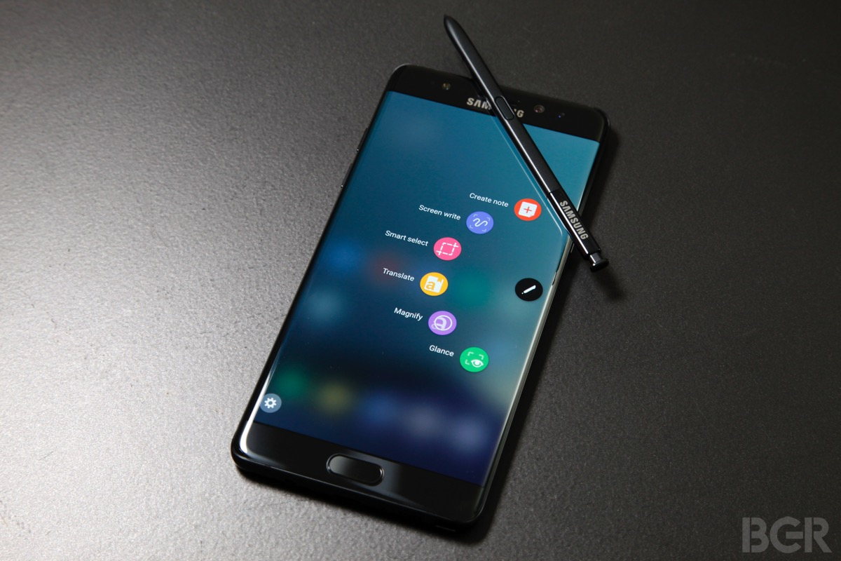 Galaxy Note 7 Exchange