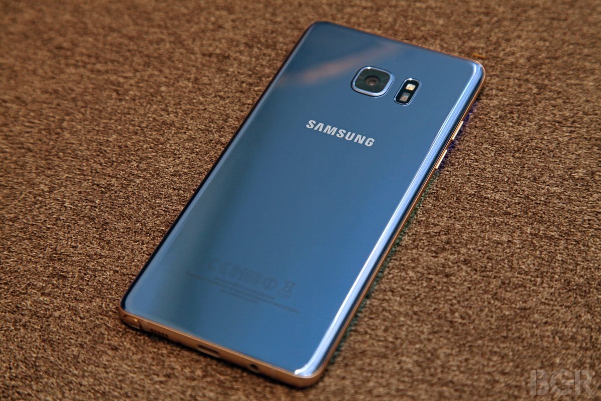 Safe Galaxy Note 7 Battery Overheating Charging