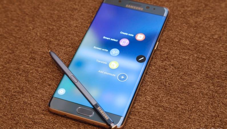 Galaxy Note 7 vs. iPhone 7 Gorilla Glass 5