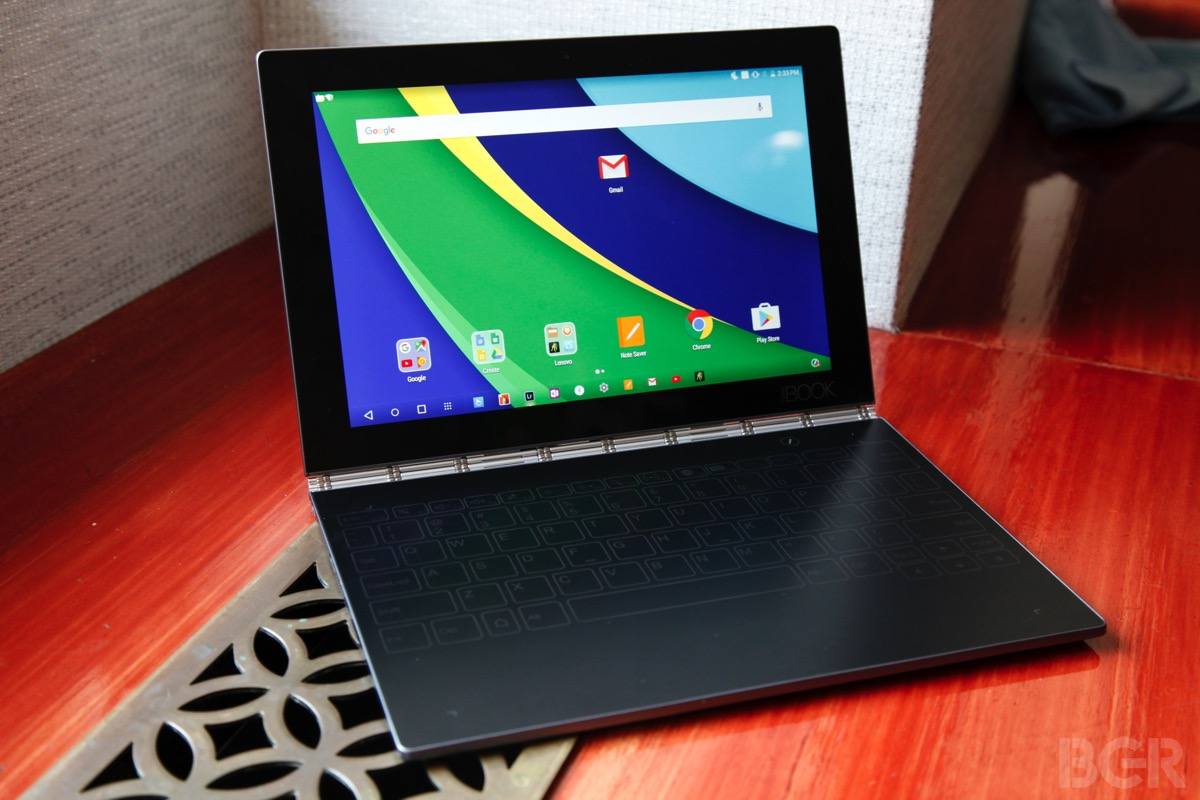 Hands On Lenovo S New Yoga Book Is Unlike Anything You Ve Ever Seen Before Bgr