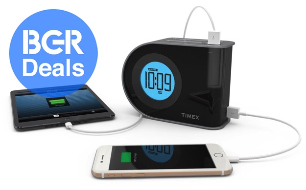 25 Indiglo Alarm Clock Has A Built In Phone Charger You